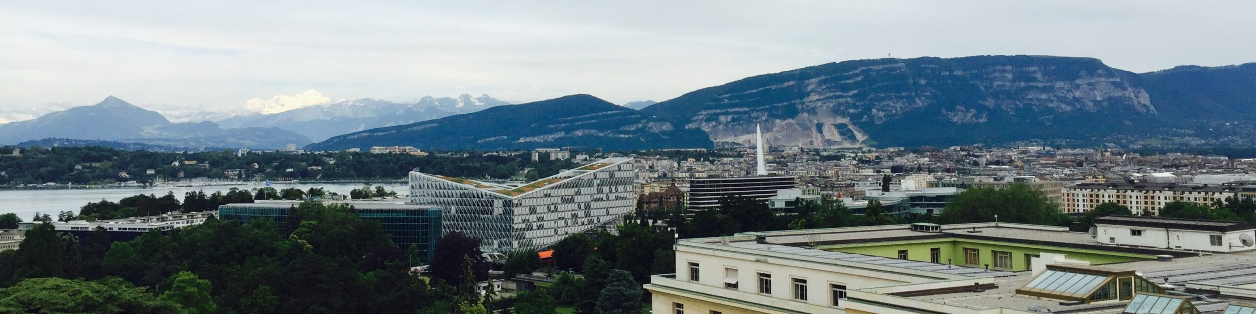 View from Palais des Nations