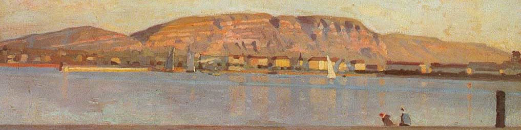 La Rade de Genève, Ferdinand HODLER.