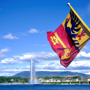 Geneva Flag Jet dEau